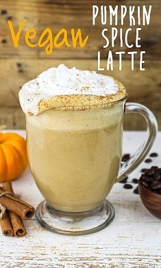 This Vegan Pumpkin Spice Latte is rich, creamy, frothy and aromatic. It'sfree of refined sugar, dairy, gluten, and processed junk. Nothing but goodness to celebrate fall!