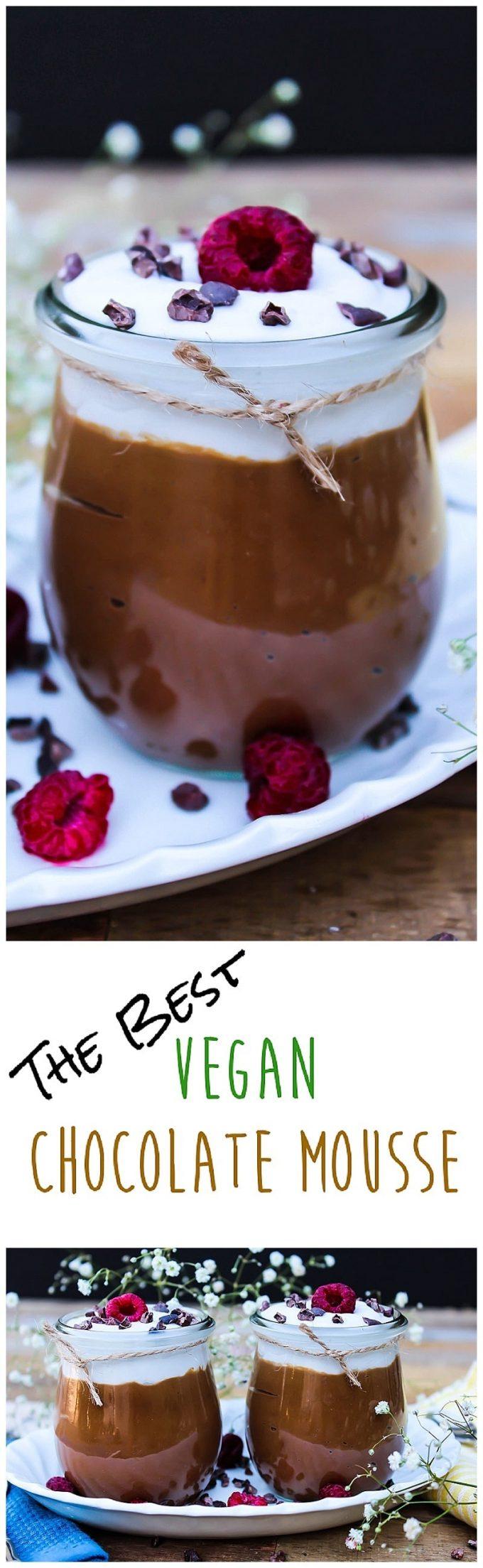 Vegan Chocolate Avocado Mousse