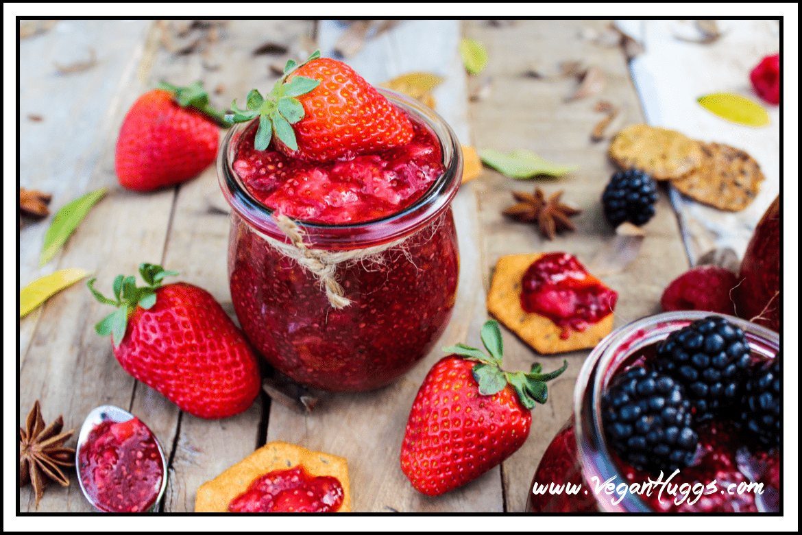 It's a Berry Chia Jam party! Pick your favorite flavor & this homemade goodness will be yours in under 5 minutes.