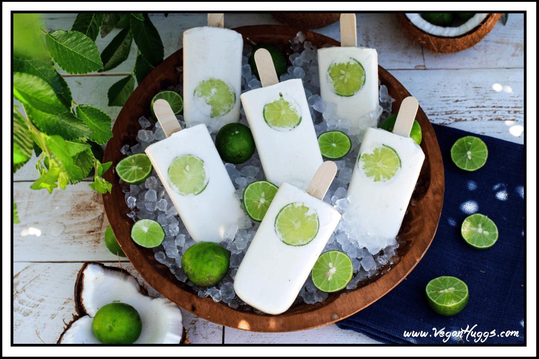 Vegan Coconut-Lime Popsicles