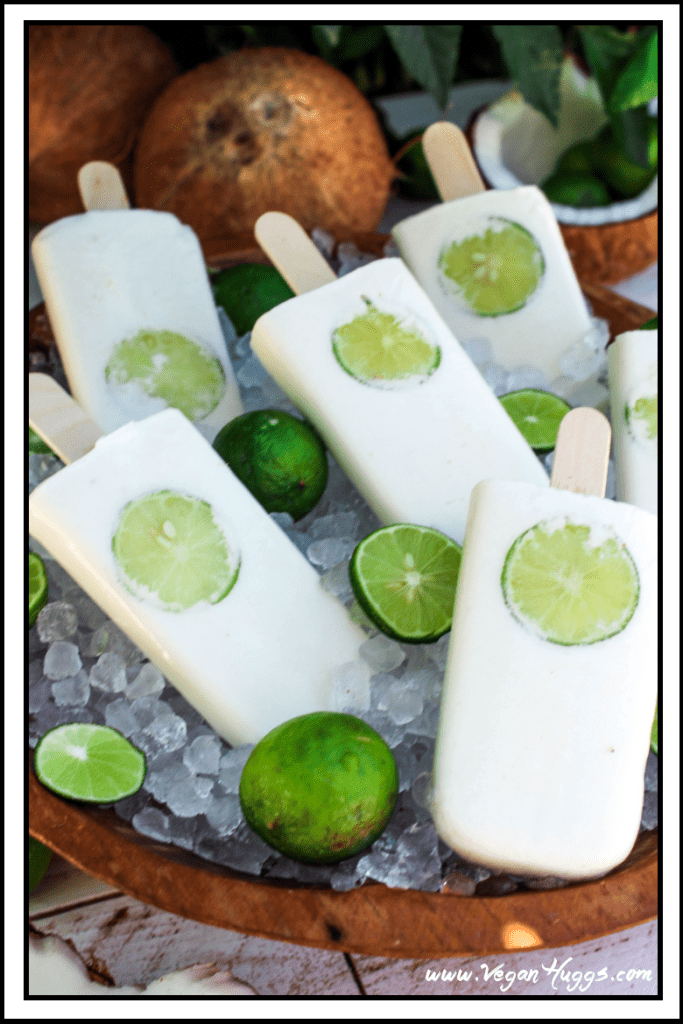Coconut-Lime Popsicles