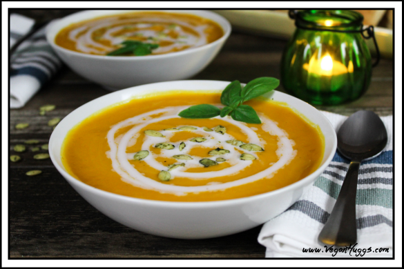Butternut Squash & Sweet Potato Soup
