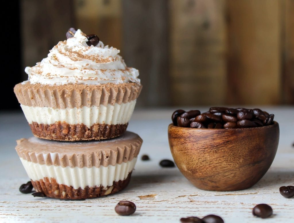 These Vegan Mocha Cheesecake Bites are the perfect healthy treat. They are gluten-free, dairy-free and guilt free. They are made with pure & natural ingredients.