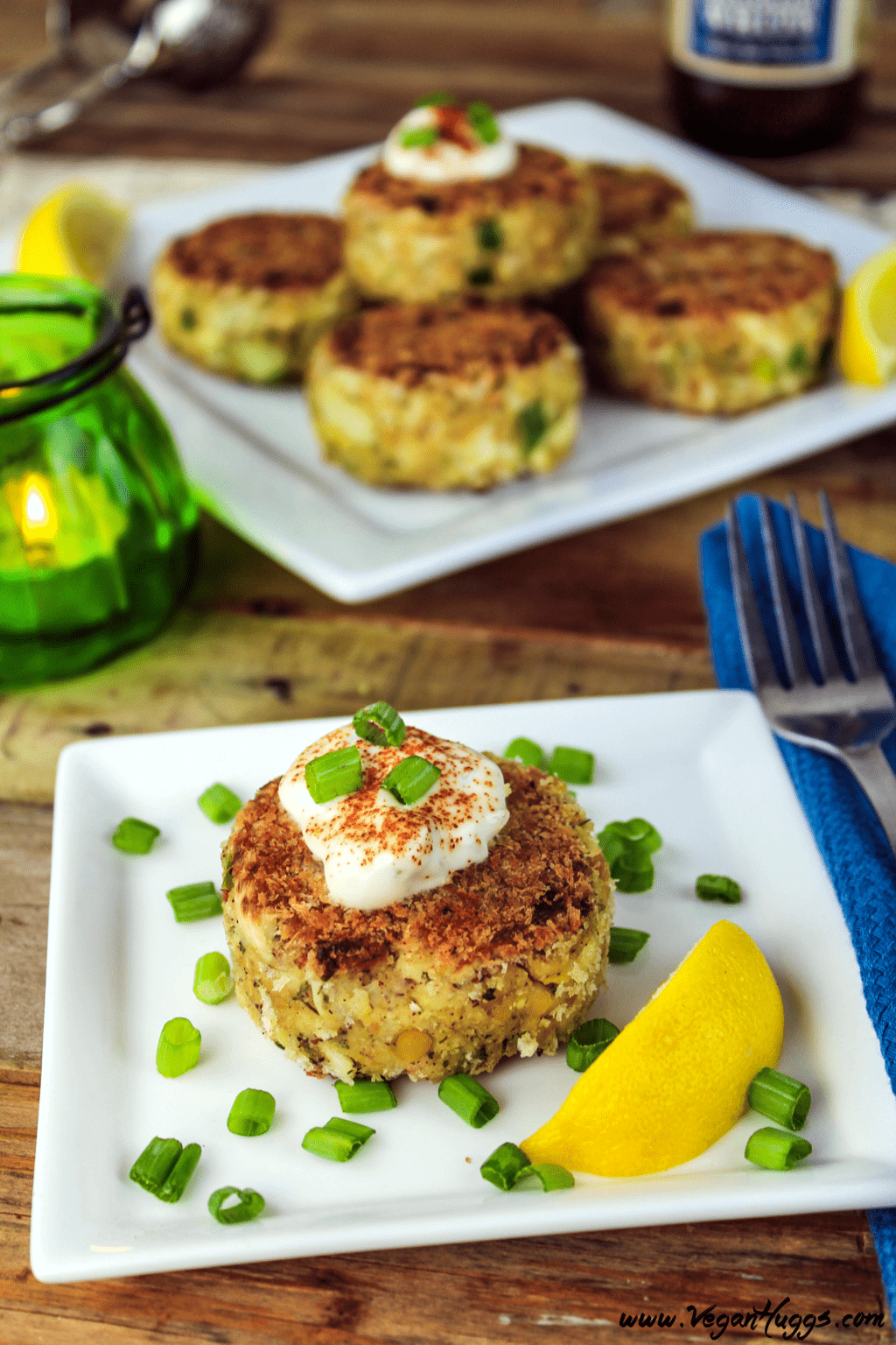 Vegan Crab Cakes Hearts Of Palm Vegan Huggs
