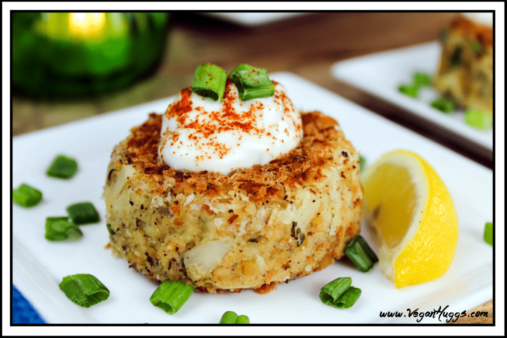 Crabless Crab Cakes