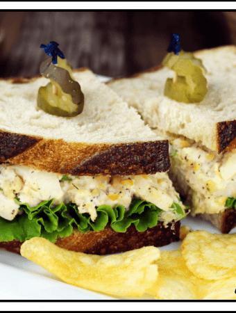 Vegan Tuna Salad Sandwich (Gluten-Free)