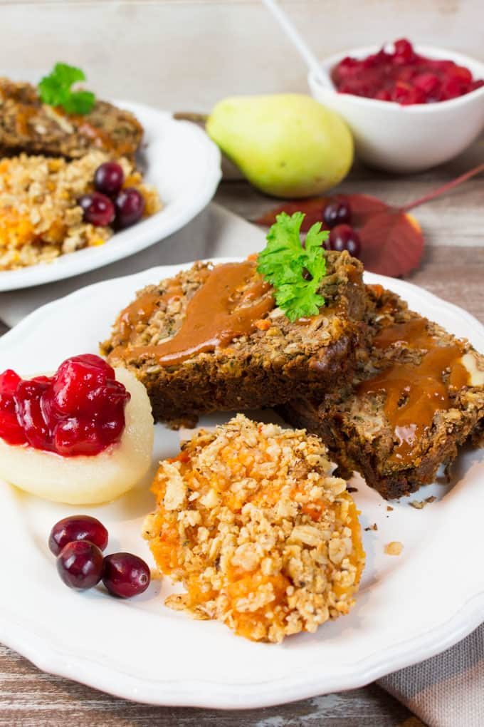 Here are 25 Delicious Vegan Thanksgiving recipes-from beverages to mains to desserts. You'll find some traditional recipes and some with a little twist.