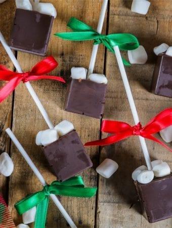 Rich & Creamy Hot Chocolate on a Stick – DIY Gift