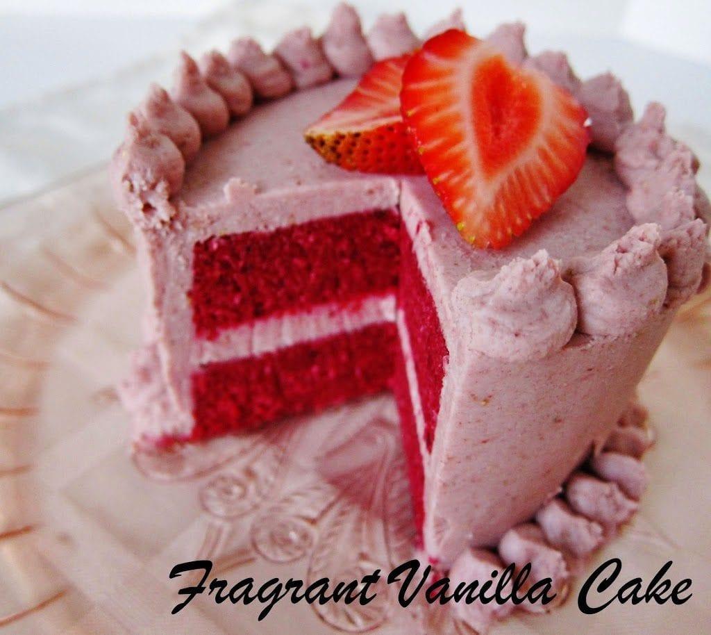 Raw Vegan Red Velvet Cake