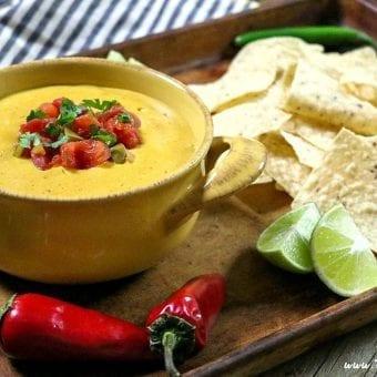 Spicy Vegan Nacho Cheese (Gluten-Free)