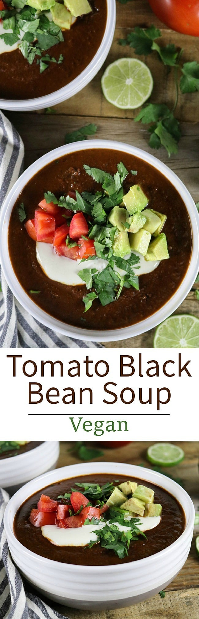 ... here in Jason's Tomato Black Bean Soup recipe for you to try. Enjoy