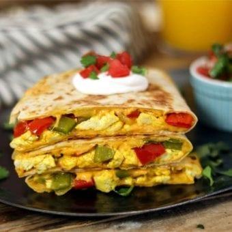 Vegan Breakfast Quesadilla
