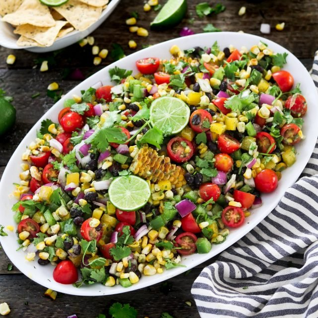 Fire up the grill, because you won't want to miss this flavorful summertime favorite. This Grilled Corn Salad is colorful, refreshing and satisfying.
