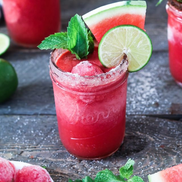 Don't let watermelon season pass you by! Treat yourself to this refreshingly tasty Frozen Watermelon Margarita.
