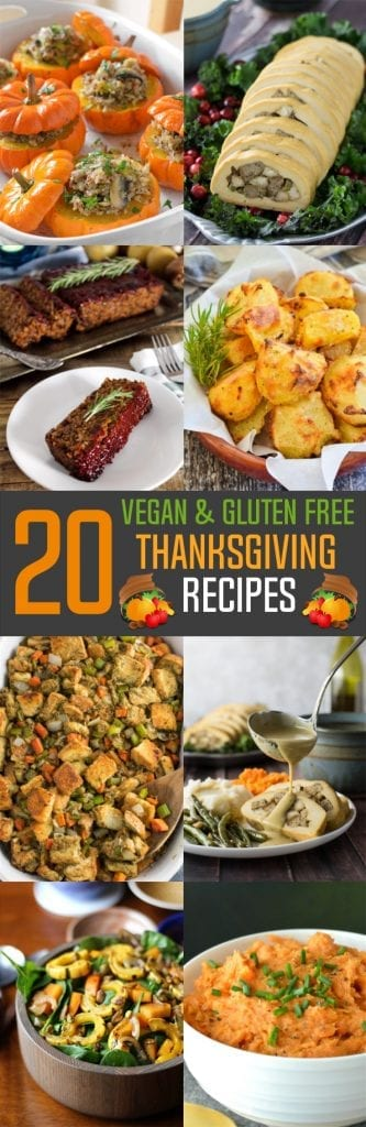 You won't have to skip a thing this year, so tell them to pass the gravy! Here are 20 classic-style Vegan & Gluten-Free Thanksgiving Recipes to keep everyone happy at the dinner table.