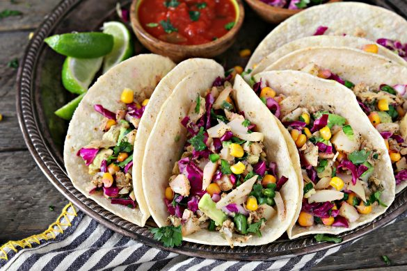 Refreshing veggies, zesty lime flavor, addictive spicy heat, and a subtle ocean-like flavor make these Vegan Fish Tacos perfect for your Taco Tuesday rotation.