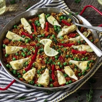 Vegetable Paella Recipe