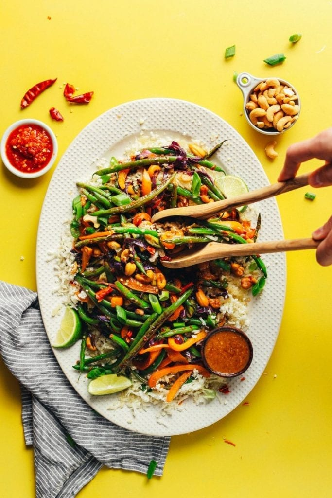 stir fry - Easy Vegan Dinner Recipes