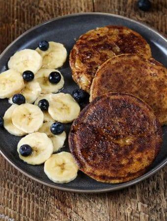 Healthy Vegan Protein Pancakes (Gluten-Free)