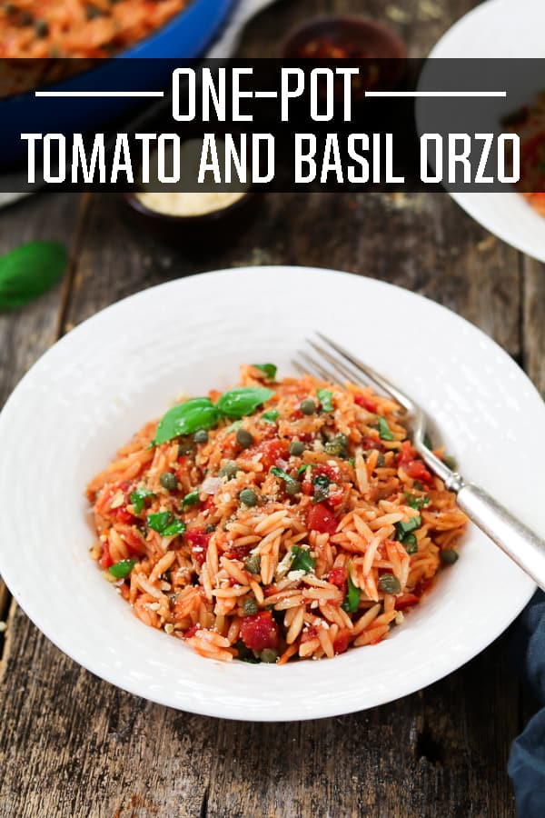 One-Pot Basil and Tomato Orzo Recipe