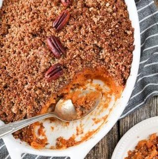 Vegan-Sweet-Potato-Casserole-Pecan-crumble-24