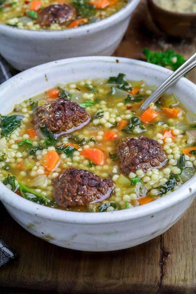 Italian Wedding Soup Can.Vegan Italian Wedding Soup