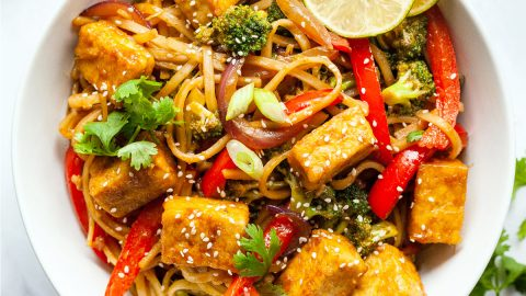 Tofu Stir Fry Vegan Huggs
